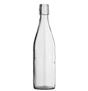 Swing top water bottle 50 cl white Maurer