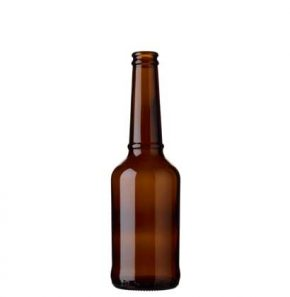 Beer bottle crown 33cl Ringband brown (MW)