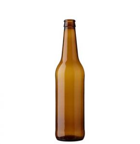 Beer bottle crown 50cl Long Neck brown