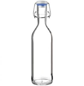 Water carafe Pure Bottle 75cl blue