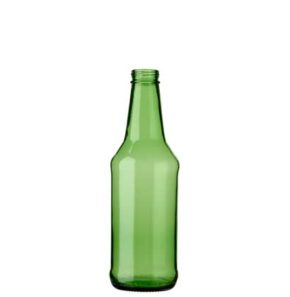 Beer bottle CH4 Drehkronen 33cl green