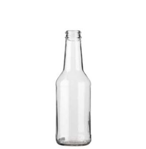 Beer bottle crown 25cl Christmas white
