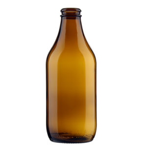 Beer Bottle crown 33cl Standard 4 brown