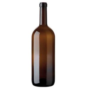 Bordeaux wine bottle cetie 1.5 l antique Magnum