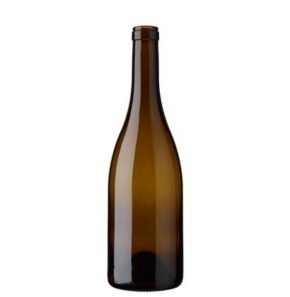 Burgundy wine bottle cetie 75 cl oak Séduction 63mm