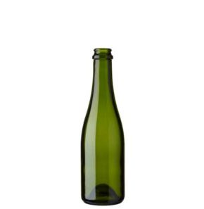 Chopine Champagne bottle crown 37.5 cl green