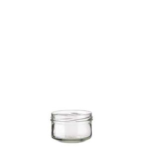 Jar 186 ml white TO82