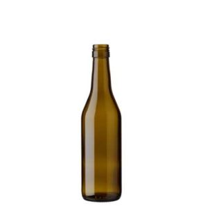 Vaud wine bottle BVS 35 cl olive green