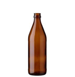 Beer bottle crown 50cl Euro brown (MW)