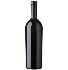Bordeaux wine bottle cetie 75cl oak Imperiale
